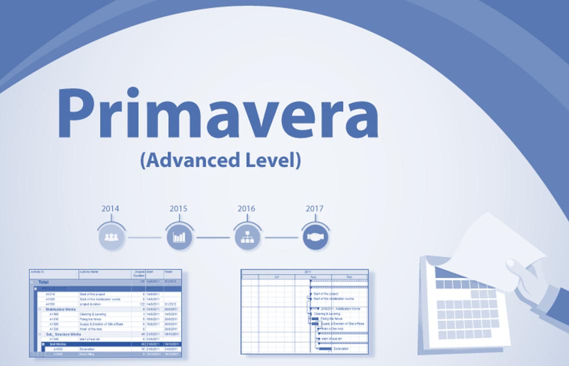 Primavera P6 (Advanced Level)