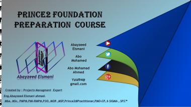Prince2 Foundation Preparation course